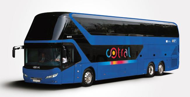 Cotral Spa i Rom köper 100 Neoplan Skyliner dubbeldäckare. Bild: MAN Truck & Bus.