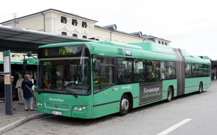Nu är kortbetalning möjlig på flertalet stadsbussar i Malm,ö – för den som vill betala extra för sin resa. Foto: Ulo Maasing.