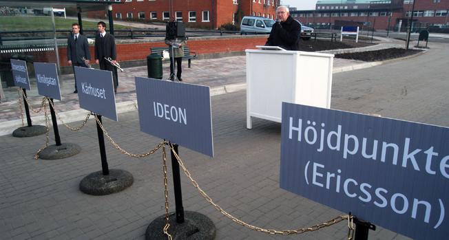 Nu ska bussarna bort från Lundalänken och spårvägen fram. Länken invigdes i mars 2003 av den dåvarande ordföranden i Skånes kollektivtrafiknämnd, Bo Nilsson. Foto: Ulo Maasing.