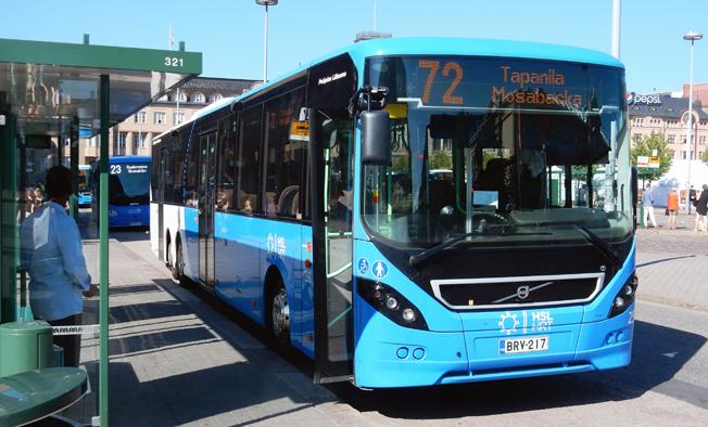 Helsingfors erbjuder sedan en tid resenärerna en unik mobilittsapp. Foto: Ulo Maasing.