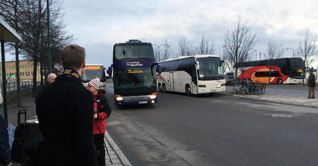 Sveriges Bussföretag och Konsumentverket har tagit fram allmänna villkor för passagerarrättigheter, kompletterade med en handbok för Sveriges Bussföretags medlemmar. Foto: Ulo Maasing.