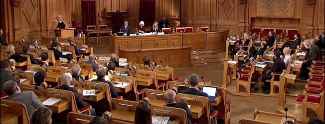 Riksdagens trafikutskott arrangerade på torsdagsförmiddagen en öppen utfrågning om kollektivtrafik. Samtliga bilder: Riksdagen.
