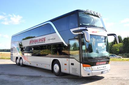 Högbergs Buss byter planeringssystem. Foto: Sindas.