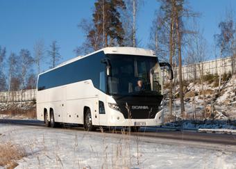 Scania Touring är den modell som den nya anläggningen ska fokusera på. Foto: Ulo Maasing.