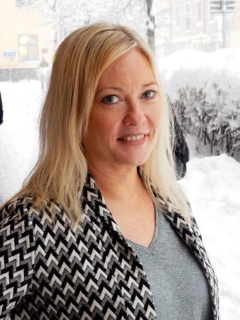 Ywonne Karlsson ska i drygt ett år vara Sveriges Bussföretags kommunikatör. Foto: Ulo Maasing.