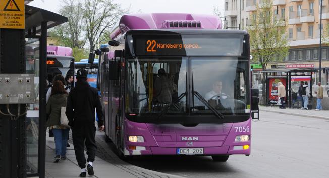 Stadsbusstrafiken  i Örebro ska bli mer attraktivt – siktet är inställt på BRT-lösningar. Foto: Ulo Maasing.