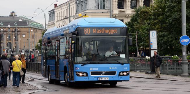 Göteborg ska inte sälja sitt kommunägda bussföretag GS Buss. Det beslutade kommunfullmäktige i Göteborg på torsdagskvällen. Foto: Ulo Maasing.