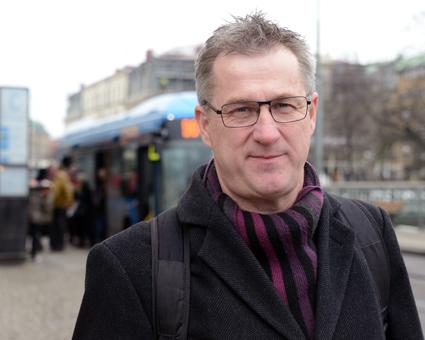 """Leif Magnusson, marknadsstrateg, Västra Götalandsregionen: """"Resenärens bästa ska vara i fokus, och tillträde till hållplatser och terminaler ska ske på lika villkor."""" Foto: Ulo Maasing."""