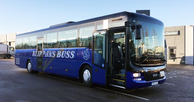 Klippans Buss har tagit emot landets första två MAN Lion´s Intercity.