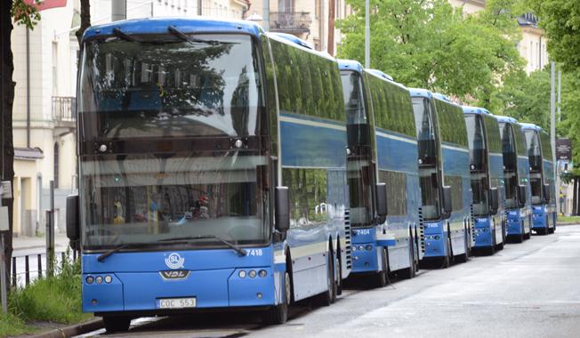 Nobinas rörelseresultat för det tredje kvartalet blev 168 miljoner kronor. Under perioden fick man sitt avtal om Norrtäljetrafiken förlängt med två år. Foto: Ulo Maasing.