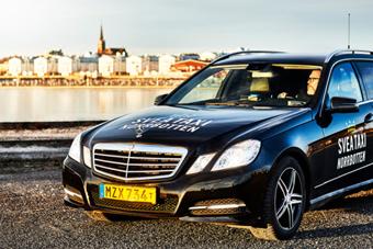 Taxi Luleåbaserade Svea Taxi Norrbotten har premiär på måndagen.