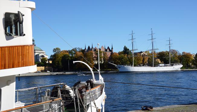 Stockholm hade fem procent fler övernattningar av besökare i oktober. Foto: Ulo Maasin g.