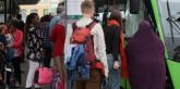 De som pendlar med kollektivtrafik mår sämre än de som cyklar eller går till jobbet. Foto: Ulo Maasing.