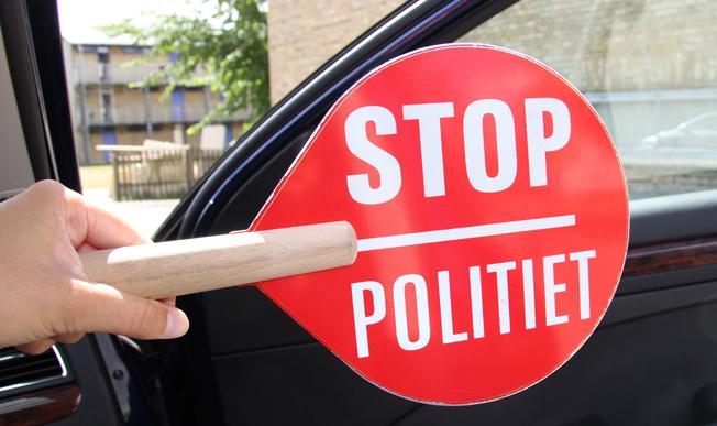 Den danska regeringen föreslår nya regler när det gäller sanktioner för överträdelse av kör- och vilotidsreglerna. Foto: Rigspolitiet.