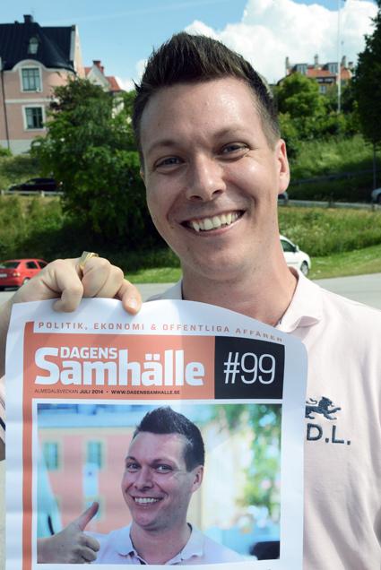 Robert Sahlberg, Karlstadsbuss, ger sig in i musikens värld. Foto: Ulo Maasing.