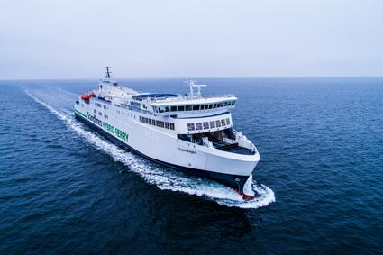 Scandlines andra hybridfärja sattes på onsdagen i trafik mellan Gedser och Rostock. Foto: Scandlines.