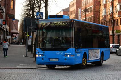 Försvinner i vår när samtliga servicelinjer i Borås läggs ner. Foto: Ulo Maasing.