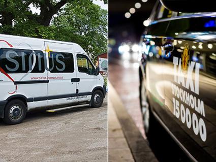 Storaffär klar inom samhällsbetalda resor. Taxi Stockholm köper Sirius. Foto: Taxi Stockholm.