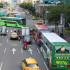 Scania har 60 procents marknadsandel för tunga bussar, dvs bussar med minst 300 hk, i Taiwan. Foto: Scania.
