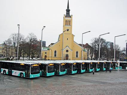 Tallinns kommunala bussbolag har beställt ytterligare 30 stadsbussar från MAN. Foto: MAN.