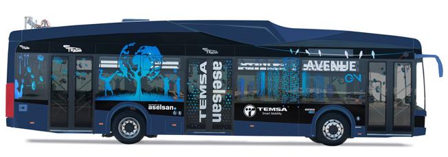 Busstillverkaren Temsa har nu lanserat sin stadsbuss Avenue som elbuss, Avenue EV. Bild: Temsa.