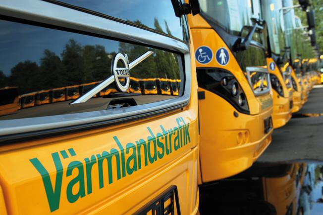 Värmlandstrafik tar hjälp av Göteborgsbyrå för att få fler att åka kollektivt. Foto: Värmlandstrafik.