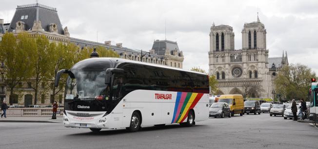 Från den 16 januari krävs en ny vignette för att få köra in i Paris. Foto: Ulo Maasing.