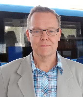 Fredrik Forsell, kollektivtrafikchef i Umeå kommun. Foto: Ulo Maasing.