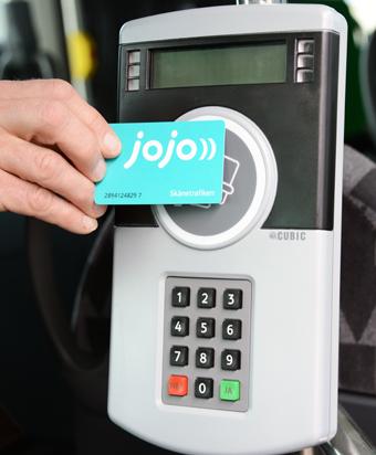 """Osby kommun startar en särskild """"JoJo-skola"""" för att hjälpa resenärer att förstå Skånetrafikens bilojettsystem. Foto: Ulo MAasing."""