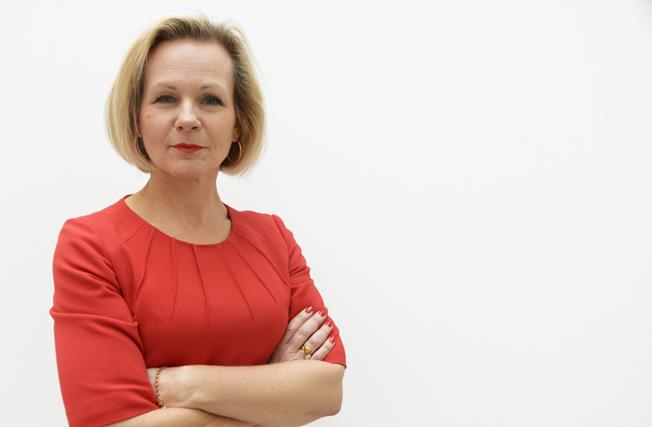 Anna Grönlund, Sveriges Bussföretag: Tänk om alla visste hur bra bussen är och vilken nytta bussföretagen gör! Foto: Ulo Maasing.