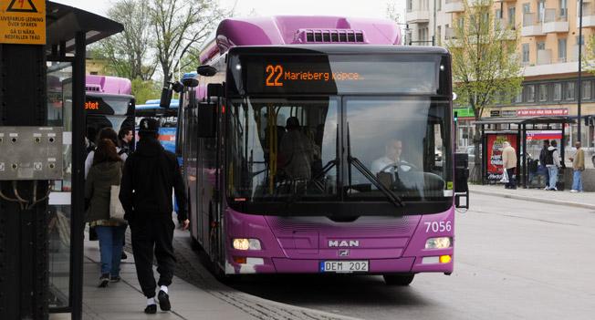 Regionledningen i Region Örebro län vill kommunalisera stadsbusstrafiken. Foto: Ulo Maasing.
