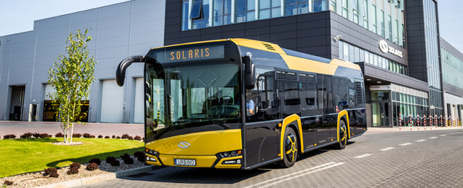 Midiversionen av nya Solaris Urbino rullar ut på marknaden. Foto: Solaris.