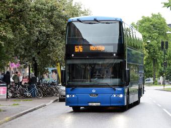 Redan 2011 introducerade Nobina wifi på bussarna mellan Stockholm och Norrtälje. Foto: Ulo Maasing.