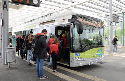 Den tyska staden Braunschweig är en av de städer där Bombardiers Primoveteknik används. Foto: Ulo Maasing.