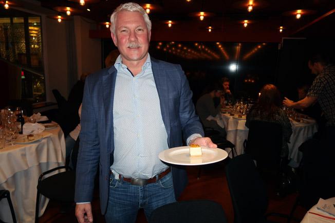Mikael Persson från Sveriges Bussföretag fanns på plats. Foto: Ulo Maasing.