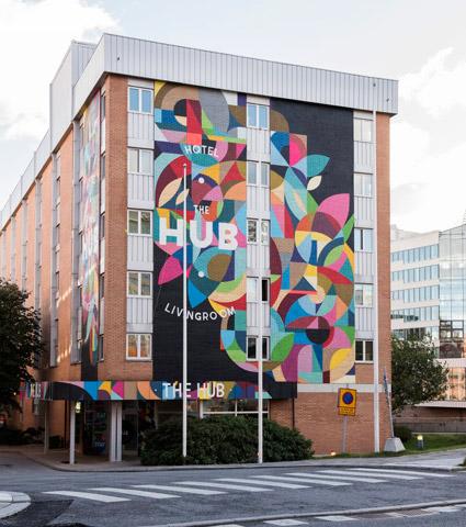 The Hub Hotel i Stockholm tillhör de hotell som tas över av Scandic. Bild: Scandic.