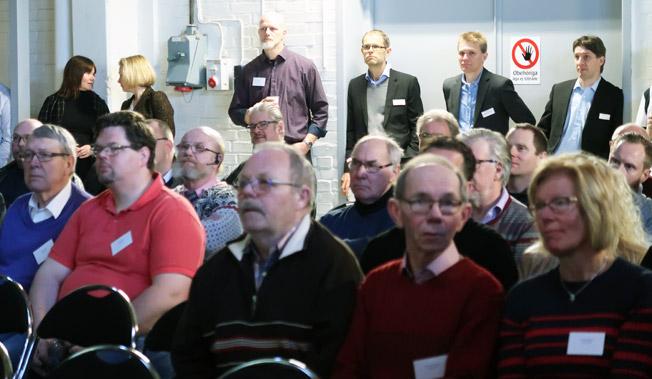 50 bussföretag deltog på årets Setraträff i Vetlanda och deltog i bland annat flera seminarier. Foto: Ulo Maasing.