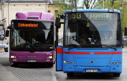 Om några år är det slutkört för privata bussföretag i Region Örebro län. Foto: Ulo Maasing.