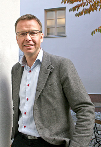 Svebios vd Gustav Melin. Foto: Anders Haaker.