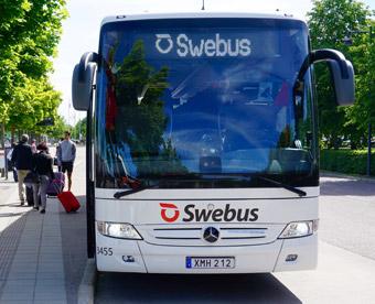 Swebuys utökar till Landvetter flygplats. Foto: Swebus.