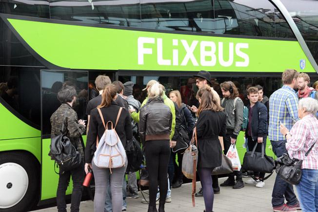 Flixbus har nu 90 procent av den tyska expressbussmarknaden, mätt i tidtabellslagda kilometrar. Foto: Ulo Maasing.