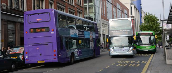 Bra busstrafik minskar människors utanförskap, konstaterar en brittisk rapport. Foto: Ulo Maasing.