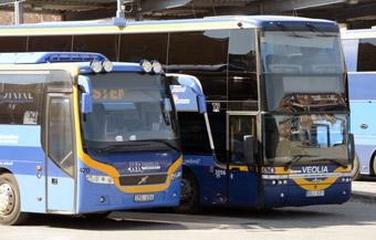 Allt fler tar bussen i Västerbotten. Foto: Ulo Maasing.