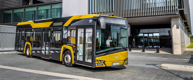 Solaris ska leverera 208 hybridbussar till Belgien. Foto: Solaris.