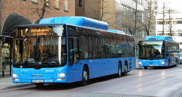 Stora förändringar väntar busstrafiken i Borås. Foto: Ulo Maasing.