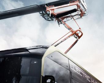 Ännu en busslinje i Göteborg får elbussar, än än bara för en dag.