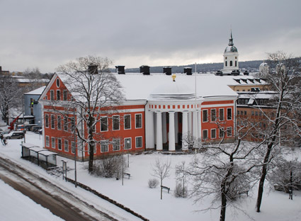 Härnösands rådhus. Foto: Härnösands kommun.