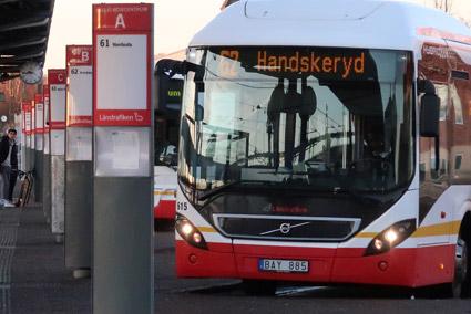 Jönköpings LÄnstrafik spräckte budgeten rejält i fjol –trots en kraftig resandeökning. Foto: Ulo Maasing.