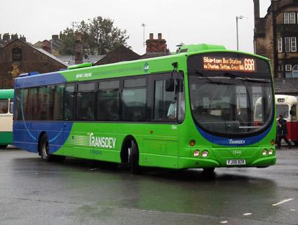 Transdevägda Keighley Buses testar ett nytt, avancerat betalsystem. Foto: Wikimedia Commons/Danny.