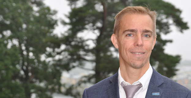 Mattias Andersson, Svensk Kollektivtrafik: Förarens bemötande är viktig. Foto: Svensk Kollektivtrafik.